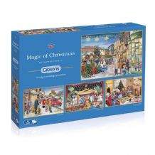 The Magic of Christmas - 4 x 500 piece  Jigsaw Puzzles